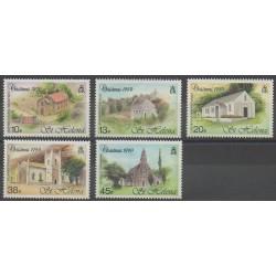 St. Helena - 1990 - Nb 535/539 - Churches - Christmas