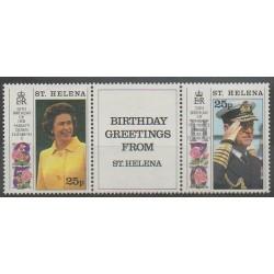 St. Helena - 1991 - Nb 549/550 - Royalty
