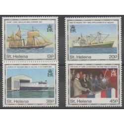 St. Helena - 1990 - Nb 531/534 - Boats