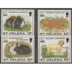 St. Helena - 1994 - Nb 615/618 - Mamals - Philately