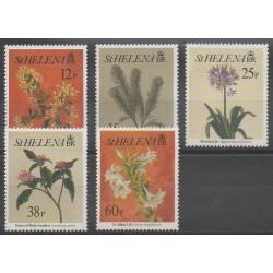St. Helena - 1994 - Nb 632/636 - Flowers