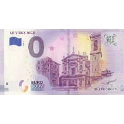 Euro banknote memory - 06 - Le Vieux Nice - 2018-1 - Nb 21