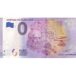 Euro banknote memory - 37 - Les inventions de Léonard de Vinci - 2020-7
