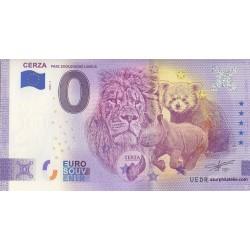 Euro banknote memory - 14 - Parc zoologique de Lisieux - 2020-5 - Anniversary