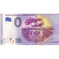 Euro banknote memory - 14 - Musée mémorial d'Omaha Beach - 2020-3