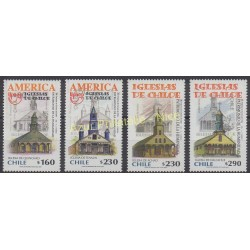 Chili - 2001 - No 1598/1599 - 1640/1641 - Monuments