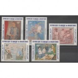 Mauritanie - 1981 - No PA204/PA208 - Peinture