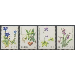 Ireland - 1978 - Nb 378/381 - Flowers