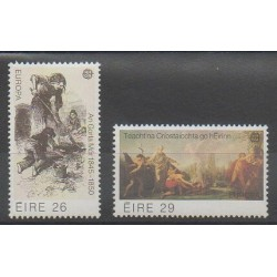 Ireland - 1982 - Nb 467/468 - Various Historics Themes - Europa
