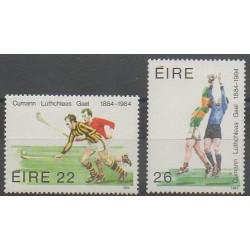 Ireland - 1984 - Nb 548/549 - Football