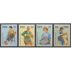 Ireland - 1983 - Nb 525/528 - Craft