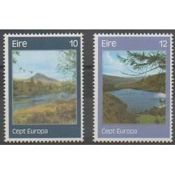 Ireland - 1977 - Nb 363/364 - Sights - Europa