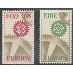 Ireland - 1967 - Nb 191/192 - Europa