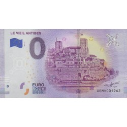 Euro banknote memory - 06 - Le Vieil Antibes - 2019-5 - Nb 1962