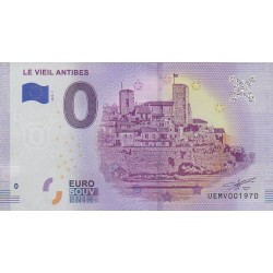Euro banknote memory - 06 - Le Vieil Antibes - 2019-5 - Nb 1970