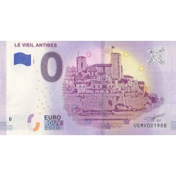 Euro banknote memory - 06 - Le Vieil Antibes - 2019-5 - Nb 1988