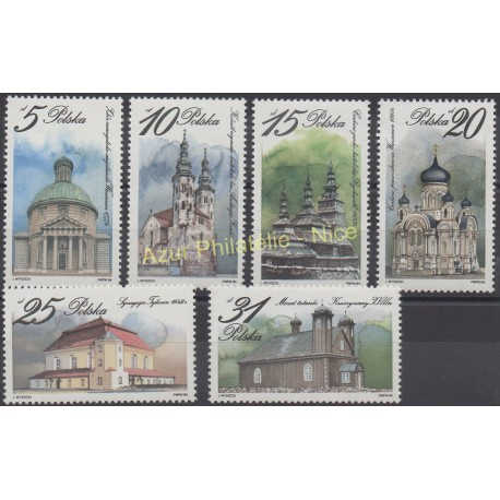 Poland - 1984 - Nb 2766/2771 - Monuments