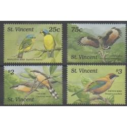 Saint Vincent - 1989 - Nb 1159/1162 - Birds