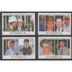 Saint Vincent - 1991 - Nb 1256/1259 - Royalty