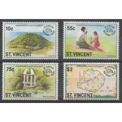 Saint Vincent - 1992 - Nb 1414/1417 - Environment