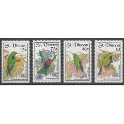 Saint Vincent - 1992 - Nb 1498/1501 - Birds