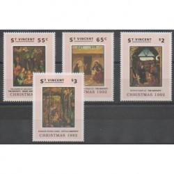 Saint Vincent - 1992 - Nb 1578/1581 - Christmas