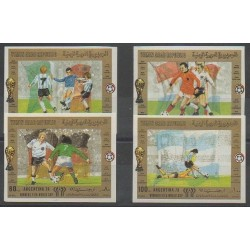 Yemen - Arab Republic - 1981 - Nb PA177/PA180 ND - Soccer World Cup