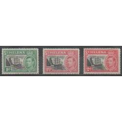 St. Helena - 1949 - Nb 118/120
