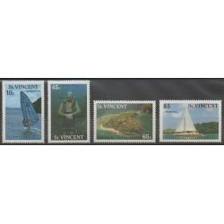 Saint-Vincent - 1988 - No 1050/1053 - Tourisme