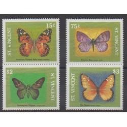 Saint-Vincent - 1989 - No 1166N/1166R - Insectes