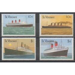Saint Vincent - 1989 - Nb 1122/1125 - Boats