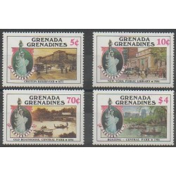 Grenadines - 1986 - Nb 642/645 - Monuments