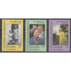 Grenadines - 1986 - Nb 656/658 - Royalty
