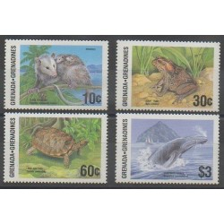 Grenadines - 1986 - Nb 678/681 - Animals