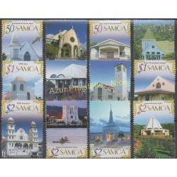 Samoa - 2007 - No 1024/1035 - Monuments