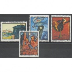 Grenadines - 1987 - Nb 761/764 - Paintings