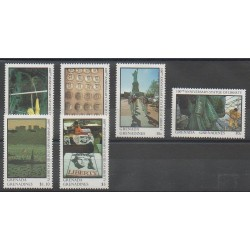 Grenadines - 1987 - Nb 791/796 - Monuments