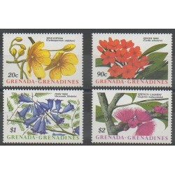 Grenadines - 1988 - Nb 942/945 - Flowers