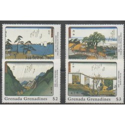 Grenadines - 1989 - Nb 968/971 - Paintings