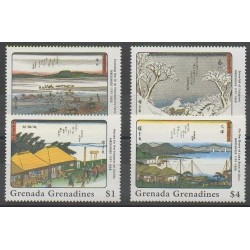Grenadines - 1989 - Nb 976/979 - Paintings