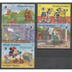Grenadines - 1989 - No 1067/1071 - Walt Disney