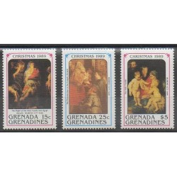 Grenadines - 1989 - Nb 1076/1078 - Christmas