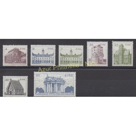 Ireland - 1983 - Nb 495/501 - Monuments