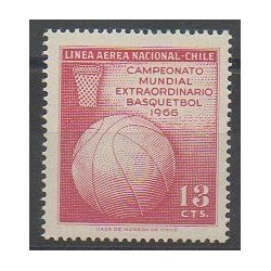 Chile - 1966 - Nb PA230 - Various sports