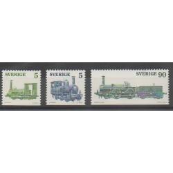 Sweden - 1975 - Nb 892/894 - Trains