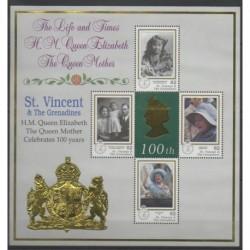 Saint-Vincent - 1999 - No 3777/3780 - Royauté - Principauté