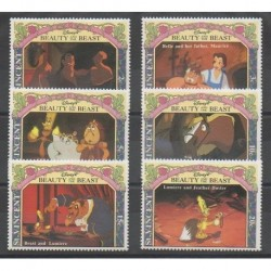 Saint Vincent - 1992 - Nb 1640/1645 - Walt Disney