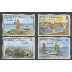 Saint-Vincent - 1992 - No 1605/1608 - Artisanat ou métiers