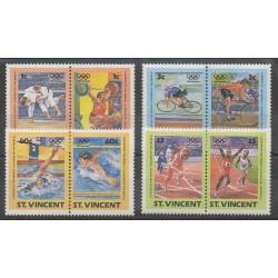 Saint-Vincent - 1984 - No 766/773 - Jeux Olympiques d'été