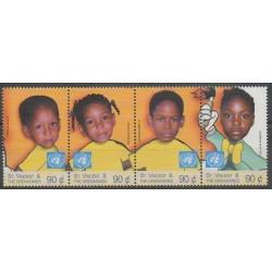 Saint-Vincent - 1999 - No 3753/3756 - Enfance